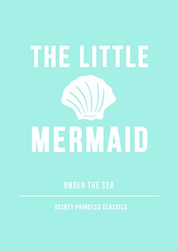 Disney Princesses: The Little Mermaid Minimalist by ofalexandra