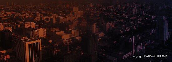infinite metropolis 001 by Karl David Hill