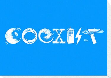 COEXIST - Let the Worlds of Nerdom Unite! by Captain RibMan