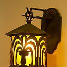 1920s lamp, other side by Joseph Allert