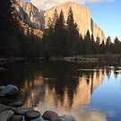El Capitan at Sunset by Nickolay Stanev