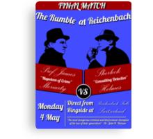 Rumble at Reichenbach (Poster) Canvas Print