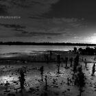 Warneet - Western Port B&W by Matt  Carlyon