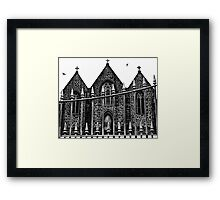 Enter at your own peril Framed Print