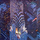 New York City Midtown Manhattan Chrysler Building by artshop77