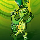 Saint Patrick's Day Turtle by Zoo-co