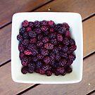 mulberries by Kim Jackman