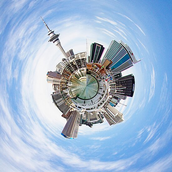 Auckland City by Robyn Carter