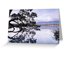 The Sky is Falling - Mossy Point, NSW Greeting Card