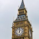 Parliament Time ~ Big Ben ~ London by Susie Peek