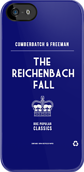 BBC Sherlock - The Reichenbach Fall Minimalist by ofalexandra