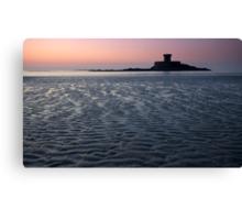 La RoccoTower at sunset  Canvas Print
