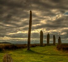 The Ring o' Brodgar, Orkney, Scotland by Gabor Pozsgai