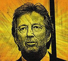 ERIC CLAPTON by Terry Collett