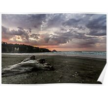 Ohope Sunset Poster