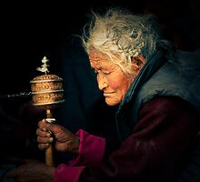 Buddhist Old Women -II by RajeevKashyap
