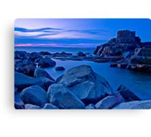 Tomaree Turret Sunset Canvas Print