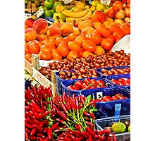 Red Hot Chillies with Friends Photographic Print