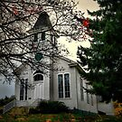Oakville Willamette Church by Charles &amp; Patricia   Harkins ~ Picture Oregon