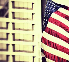 Patriotism - Downtown Cincinnati by Alex Baker