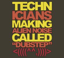 Technicians Making Alien Noise (yellow) by DropBass