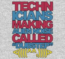 Technicians Making Alien Noise (blue) by DropBass