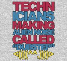 Technicians Making Alien Noise (blue) by DropBass