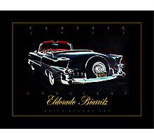 1955 Cadillac Eldorado Biarritz ver 2 Photographic Print
