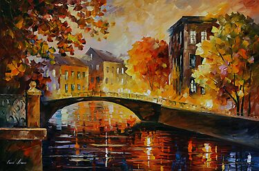 THE RIVER OF MEMORIES - LEONID AFREMOV by Leonid  Afremov