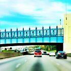 Cincinnati Bridge - Cincinnati by Alex Baker