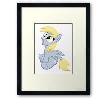 Just Derpy Framed Print