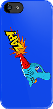 Raygun Zap Blue by LawrenceA