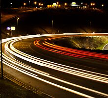 Light Trails by Lensviewphoto