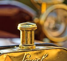 1909 Buick Model F Touring Hood Ornament by Jill Reger