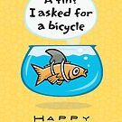 I asked for a bicycle by KenRinkel