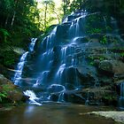Waterfall in Blue Mountains by AdamRussell