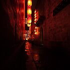 Chef in Chinese alley by AdamRussell