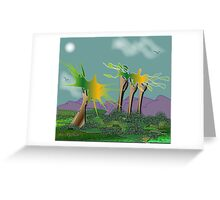 LandEscape Greeting Card