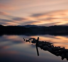 Loch Ard sunset by Wan Mekwi