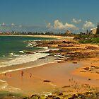 mooloolaba beach  by warren dacey