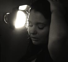 Lady and the lamp by cjsphoto