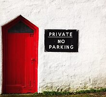 The red door of rotherslade! by ThePigmi