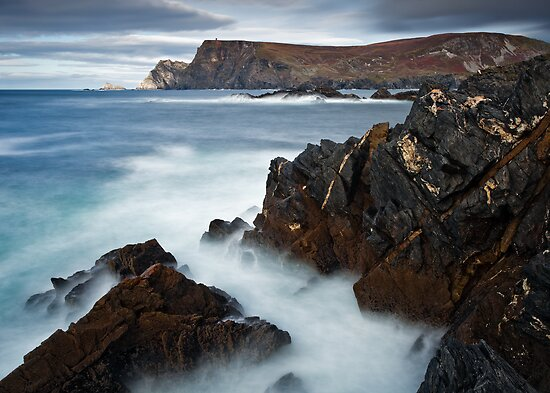 Glen Bay Donegal by Derek Smyth