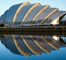 Reflected Clyde Auditorium by Glaspark