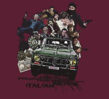 """Poliziottesco"" Italian Movies by Alternative Art Steve"