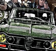 """""""Poliziottesco"""" Italian Movies Sticker"""