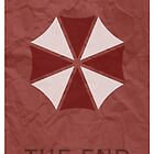 Resident Evil Umbrella Poster by Gennargh