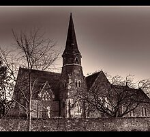 Church of St Mary & St Peter, Montrose (black & white) by seanclifton