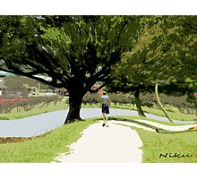 Nature-long walk Photographic Print