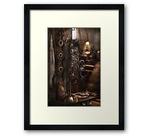 Machinist - You got some good gear there Framed Print